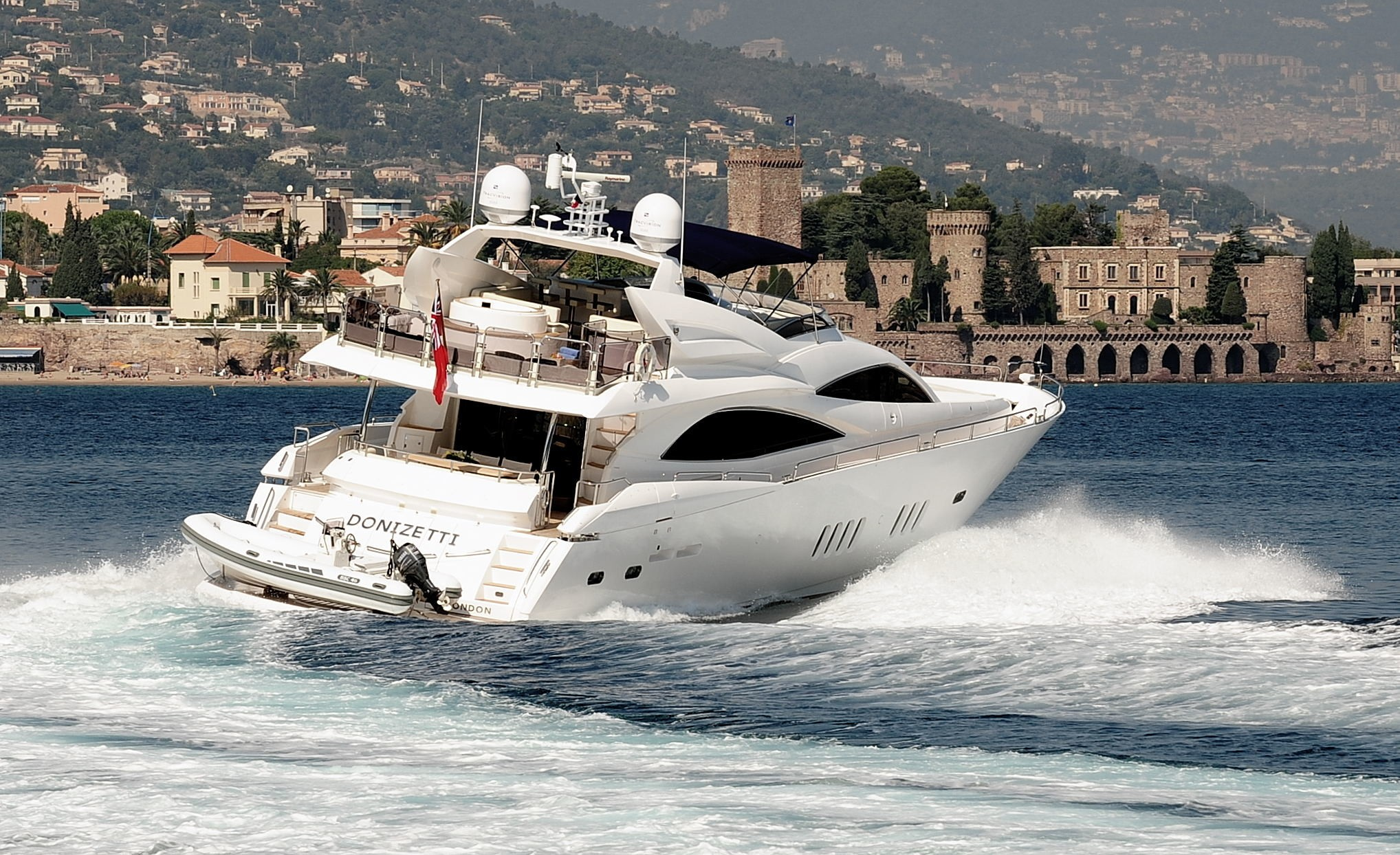 Donizetti Yacht Charter Details, Sunseeker 90 ...